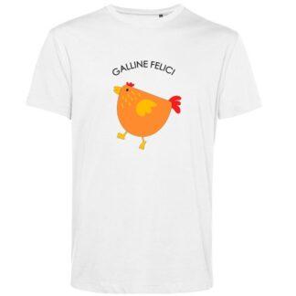 maglietta bambino galline felici